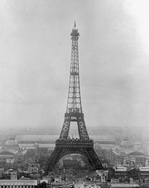 Picture dated March 31, 1889 shows the Eiffel Tower in Paris just after it was built. AFP PHOTO / AFP PHOTO / STF