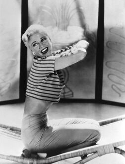 US actress, dancer and singer Ginger Rogers