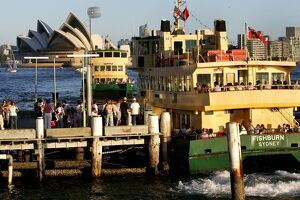 All Aboard for the Sydney Ferry