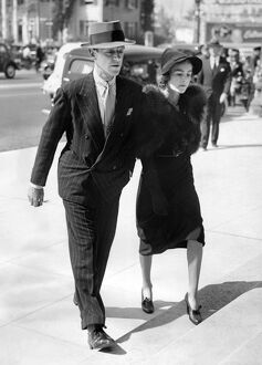 American actor, singer and dancer Fred Astaire and his wife Phyllis Livingston Potter