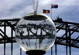 AUSTRALIA-ABORIGINES-NATIONAL SORRY DAY-FLAGS