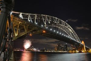AUSTRALIA-SYDNEY-BRIDGE-EARTH HOUR