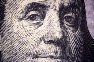Benjamin Franklin Close-up