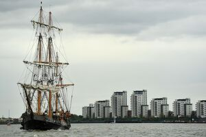 BRITAIN-FESTIVAL-TALL SHIPS-SAILING