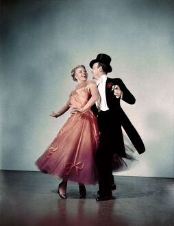 Dancing Partners Ginger Rogers and Fred Astaire
