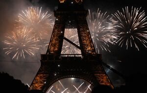 FRANCE-BASTILLE DAY-FIREWORK