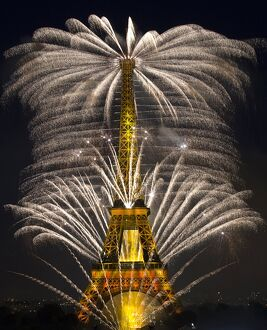 FRANCE-PARIS-BASTILLE-DAY-EIFFEL TOWER