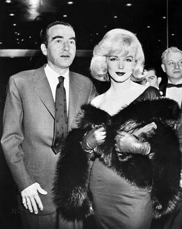 Marilyn Monroe and actor Montgomery Clift 1961