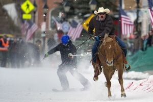 SKI JORING-US -COLORADO-OFFBEAT