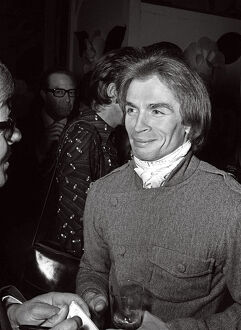 Soviet born ballet dancer Rudolf Nureyev August 1970