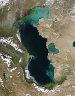 SPACE-CASPIAN SEA