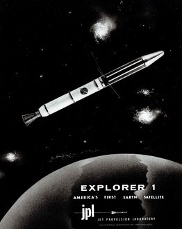 SPACE-RACE-JUNO I-EXPLORER 1