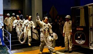 SPACE-US-HISTORY OF MANNED SPACE FLIGHT-APOLLO