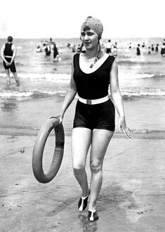 Swimwear Fashion 1937