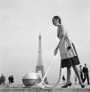 Trocadero Flying Vacuum Cleaner