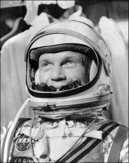 USA-SPACE-COSMONAUT-JOHN GLENN