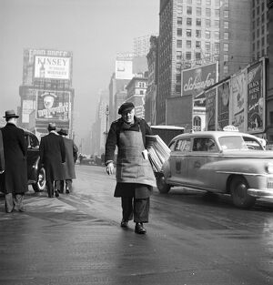 1950s New York Broadway