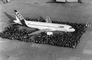 AIRBUS-A320-FIRST FLIGHT