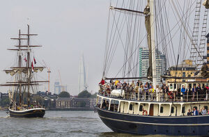 BRITAIN-OFFBEAT-TALL SHIPS
