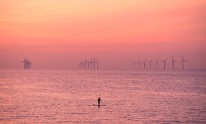 BRITAIN-WEATHER-PADDLEBOARDING