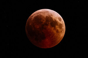 BULGARIA-SCIENCE-ASTRONOMY-ECLIPSE-MOON