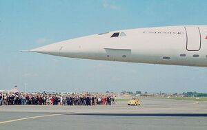 vintage archive/transport aviation paris air/concorde avion