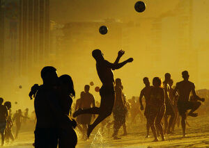 travel/brazil/football copa america beach