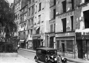 vintage archive/france daily life paris