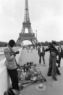 vintage archive/france paris tourism feature trade