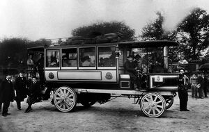 French Steam Omnibus in 1895