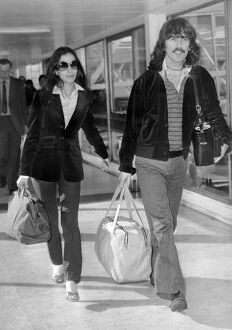 George Harrison and his wife Olivia 1978
