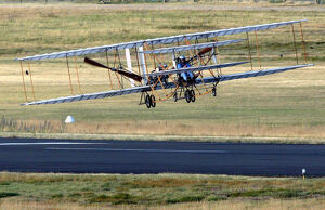 Landing a Replica of Wright's Flyer 3