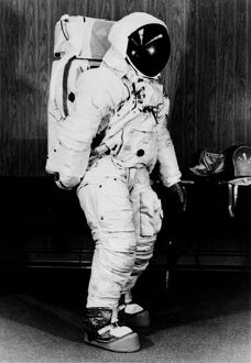 MOON-APOLLO XI-ASTRONAUT SUIT