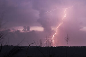 nature/myanmar weather lightning
