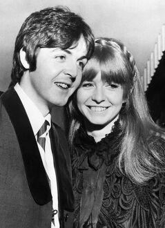 Paul McCartney and Jane Asher 1968