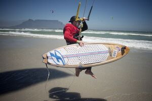 SOUTH AFRICA-KITESURFING-RECORD