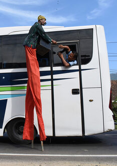 offbeat quirky images/offbeat 2019/stilts bus offbeat indonesia