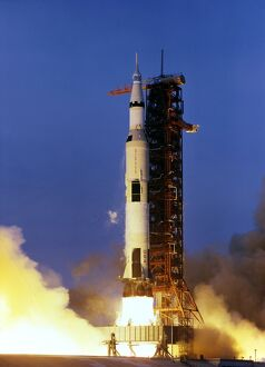 US-ASTRONAUTICS-APOLLO XIII-LAUNCH
