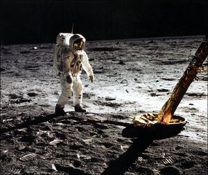 US-SPACE-MOON-APOLLO XI-ALDRIN
